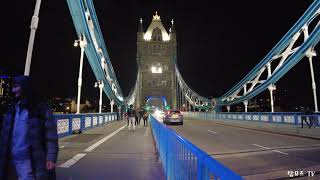 런던 타워브릿지 야경