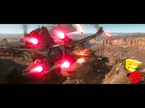 Star Wars Battlefront Single Player Campaign Gameplay Trailer Demo - E3 2015 (Battlefront 3)