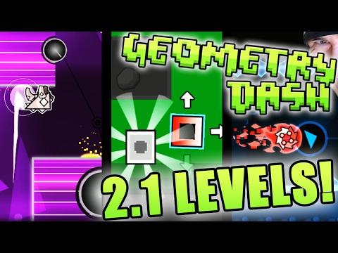 Geometry Dash 2.1 LEVELS ~ [THE SPLIT, ALTERGAME XI, LITHIUM]