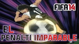 TRUCO PENALTI IMPARABLE | TUTORIAL PENALTI | FIFA 14
