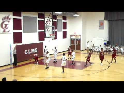 8th Grade Factory Shoals vs Chestnut Log Middle School 11/30/18