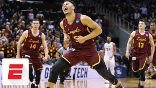 Loyola-Chicago beats Nevada 69-68 to reach first Elite Eight since 1963 | ESPN