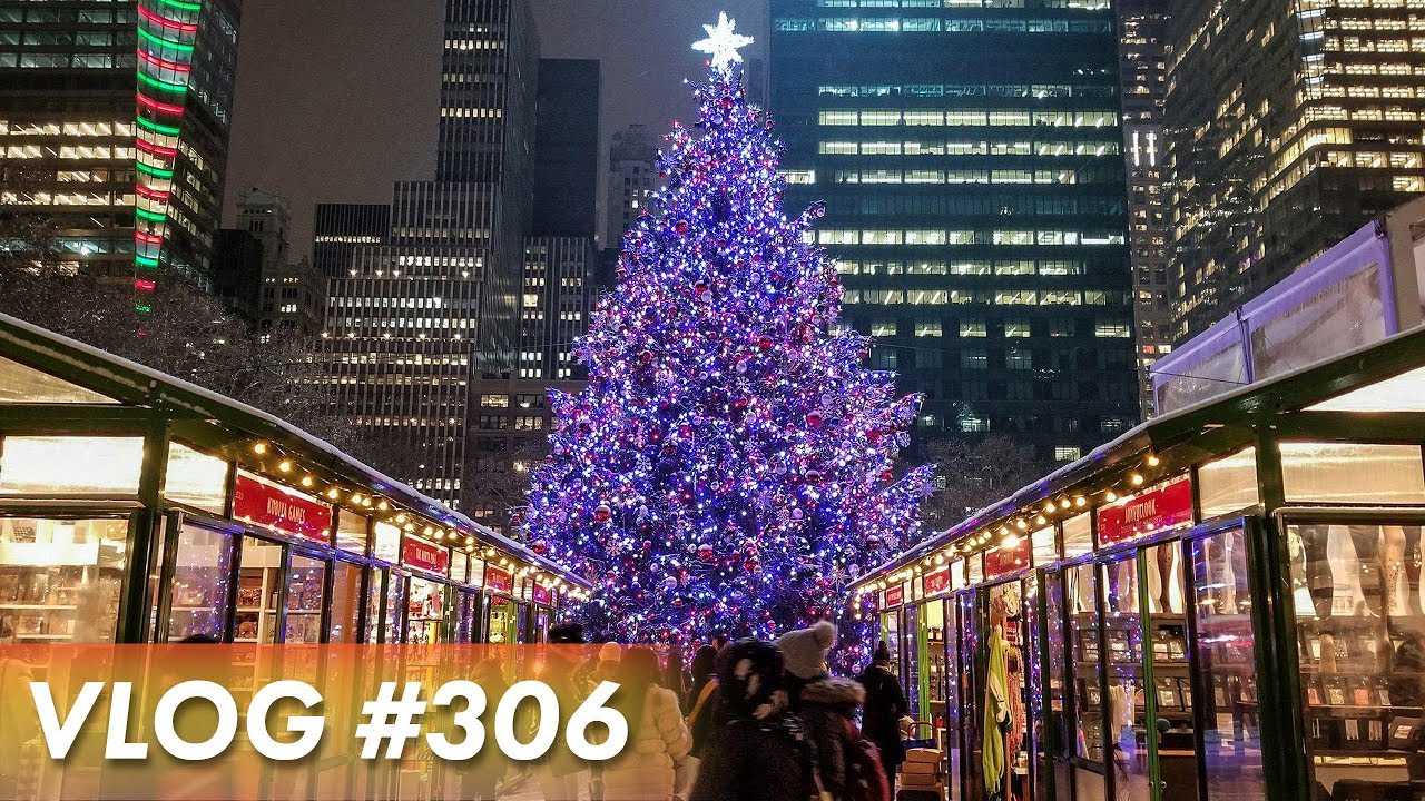 BEAUTIFUL HOLIDAY MARKET IN NYC - YouTube