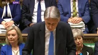 Spring Statement 2018 - Chancellors Speech