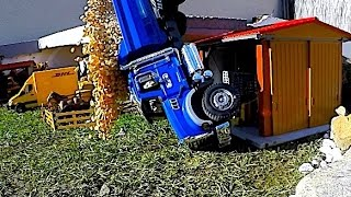 TOP 10 CRASHES Truck tractor BRUDER Toys Best of
