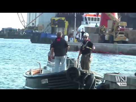 Costa Concordia Finally on the Move