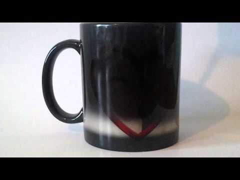 Печать на чашке. Нанесение фото на Чашку-Хамелеон