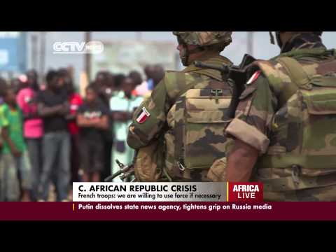 French army battles militias in the capital, Bangui