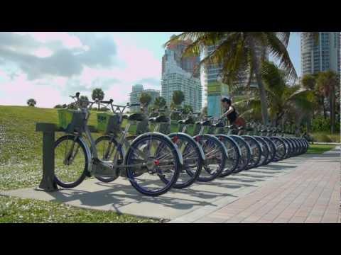 DecoBike Miami Beach Bike Sharing Program Instructional Video-How To Use Video