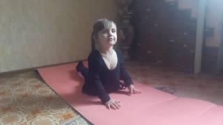 Видео для девочек.гимнастика для детей