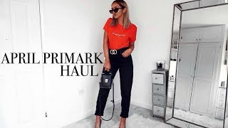 One of Laura Meachem's most viewed videos: BIGGEST AND BEST PRIMARK HAUL YET?!! // Huge April Haul & Try-on!