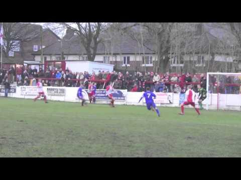 Ashton United 0-2 FC United. 3 January 2015.