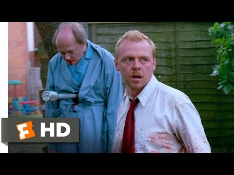 Shaun of the Dead (5/8) Movie CLIP - Feel Free to Step In (2004) HD