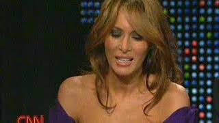 Donald and Melania Trump on Larry King Live (2005) , clip 1