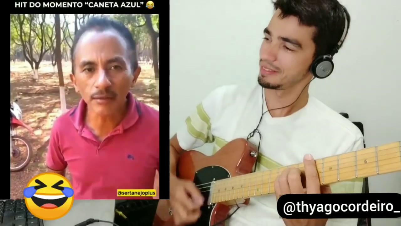 CANETA AZUL NA GUITARRA -  SUCESSO