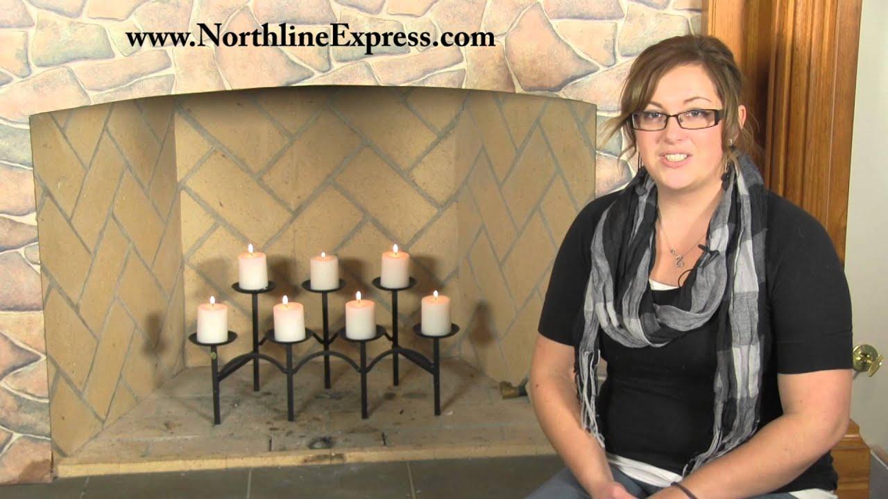 gothic style fireplace candelabra youtube