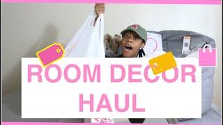 Room decor haul #roomdecor #roomdecorhaul