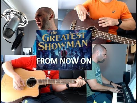 From Now On - The Greatest Showman piano cover guitar vocal soundtrack Lockyer