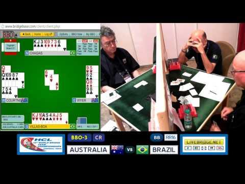 2015 WBTC BB-RR16 BBO-3[CR] AUSTRALIA vs BRAZIL