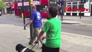 Around London - Guide Dog Training With Kevin - Extra Tv