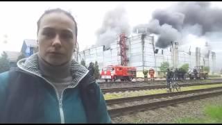 Пожар в Лыткарино 21.05.2017