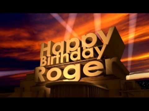 hqdefault happy birthday roger youtube