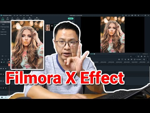 How to Change Photo Placement - Filmora X Effects