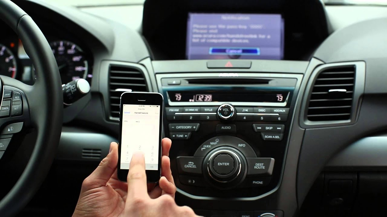 acura of westchester bluetooth set up for the rdx spanish youtube