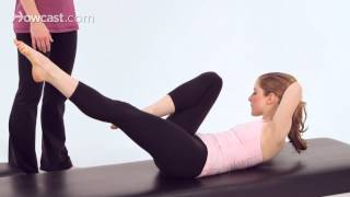 How to Do the Criss-Cross | Pilates Workout