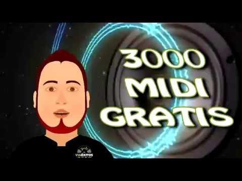 DESCARGA 3000 MIDI GRATIS 100 MB [Solo Éxitos] Karaoke/Pistas
