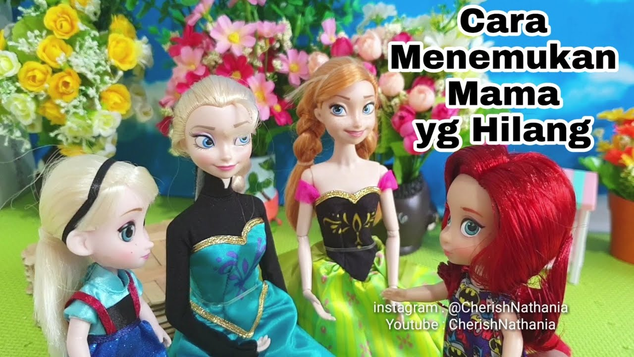 Barbie Frozen Elsa Puteri Duyung Ariel Cantik L Video Cerita Dongeng Barbie Anak Bahasa Indonesia