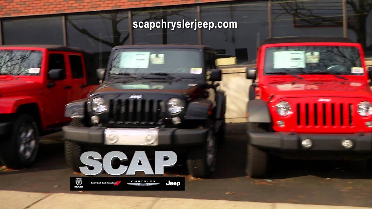 scap chrysler dodge jeep ram ct 39 s wrangler headquarters youtube. Black Bedroom Furniture Sets. Home Design Ideas