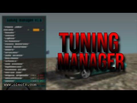 Gta San Andreas #202   TUNING MANAGER V1.6   Tanıtım   Kurulum   Download