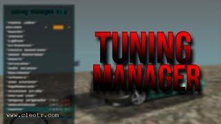 Gta San Andreas #202 | TUNING MANAGER V1.6 | Tanıtım | Kurulum | Download