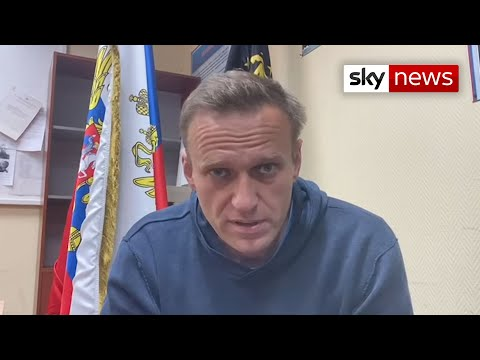 Alexei Navalny calls for protests over his arrest
