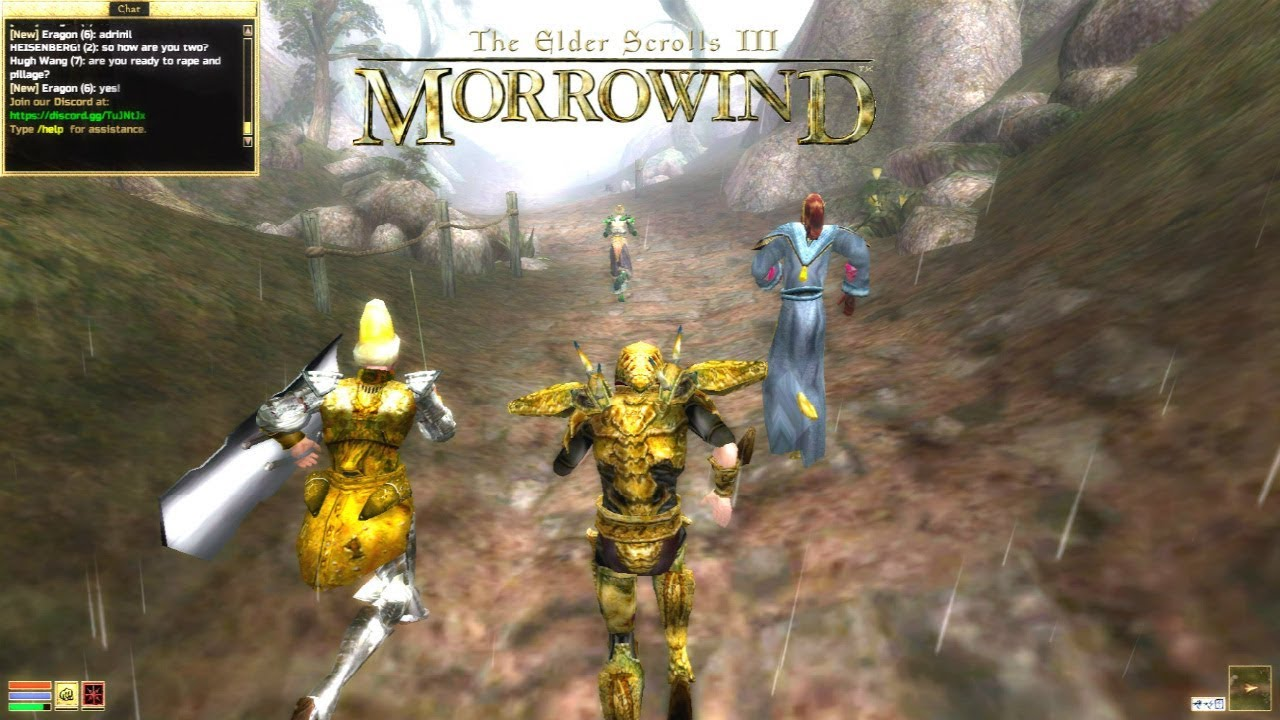 Morrowind Multiplayer (Mod) - 64 Player Server (PvP)