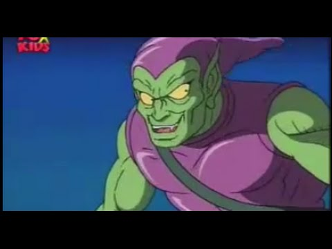 Spiderman the Animated Series - THE PUNISHER vs THE GREEN GOBLIN