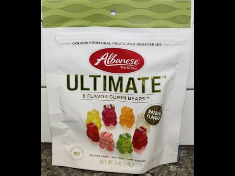 Albanese World's Best ULTIMATE 8 Flavor Gummi Bears Review