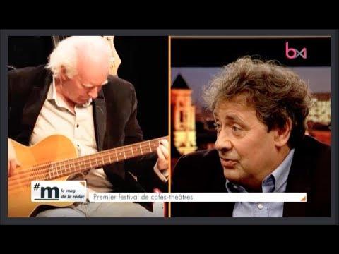 Bernard Degavre chante Georges Moustaki - interview sur Bx1