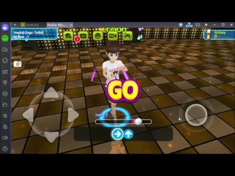 Tutorial Main Avatar Musik Indonesia di Bluestacks [Dance Key setting]