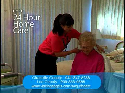 Visiting Angels Punta Gorda Florida Home Health Care.wmv