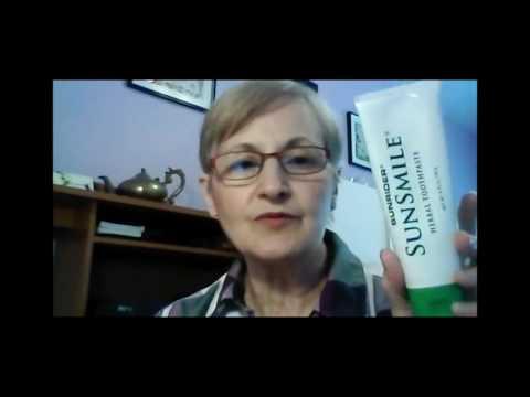 Sunrider Toothpaste, Sunrider Deodorant Natural and Safe