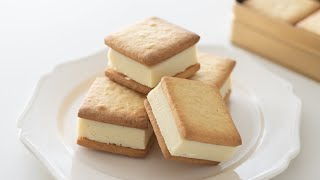 白い生チョコサンドクッキーの作り方 White Chocolate Cookie Sandwich|HidaMari Cooking