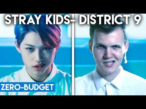 K-POP WITH ZERO BUDGET! (Stray Kids- 'District 9')