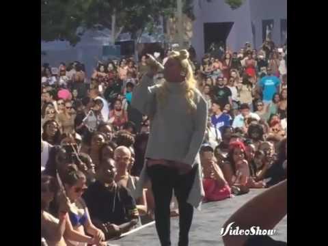 Rapper Trina at Amber Rose slutwalk