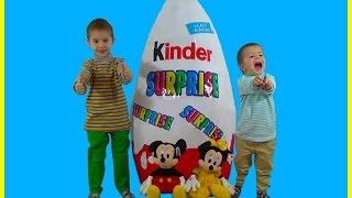 Video Giant Kinder Surprise Egg .Toys,Planes,Thomas,Billiards,Большой Киндер download MP3, 3GP, MP4, WEBM, AVI, FLV Maret 2018