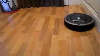 Видео обзор iRobot Roomba 870 http://topshop.live/(Уборка проходит бесшумно и притом чисто ! И это не мечты уставшей от домашних забот хозяйки, а объективная..., 2016-07-28T12:37:21.000Z)