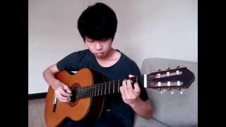 老鼠愛大米(Lao Shu Ai Da Mi)[Mouse love rice] Guitar Fingerstyle - Golf Dechawat