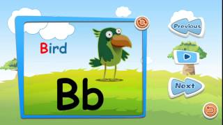 Preschool alphabet kids ABC puzzles & flash cards - free english learning games
