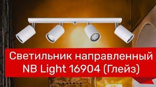 Светильник направленный NB LIGHT 16904 (NB LIGHT 12509-cl204-pla000-cp000 Глейз) обзор